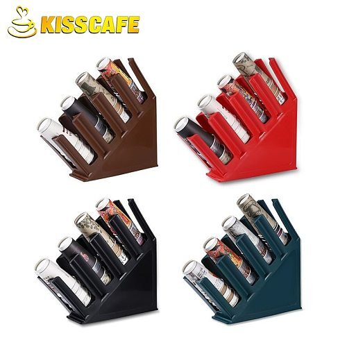 Coffee Milk Tea Shop Supplies Bar Counter Straw Storage Rack Disposable Paper Cup Holder Take Cup Holder Paper Towel Cup Dispens