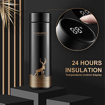 Intelligent Temperature Display Stainless Steel Insulation cup Tea cup Hot coffee cup Vacuum Bottle Thermos Cup Coffee Tea Mug
