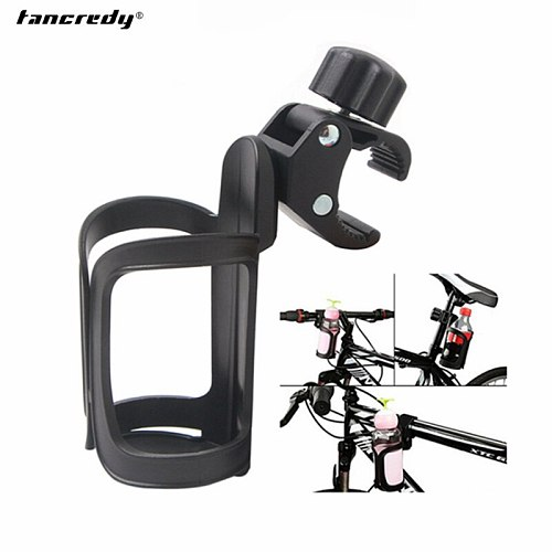 Universal Car Bike Bottle Drink Holder Black Water Cup Hanging Holder Frame for Bicycle Baby Carriage Drink Holder Accessories