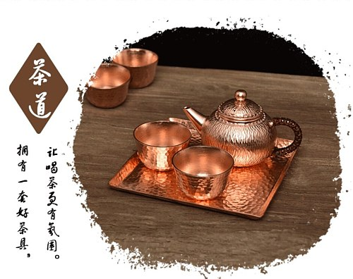 1pc 3size handmade pure copper tea espresso coffee plate palace style dishes for coffee cup