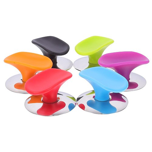 6pcs Silicone Cookware Lid Replacement Knobs Pot Lid Handles (Assorted Color)
