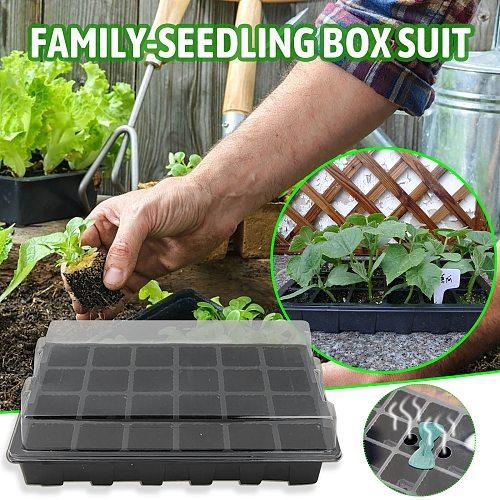 Plant Pot 24 Hole Plant Seed Grows Box Nursery Seedling Starter Garden Yard Tray Hot Garden Accessories Flower Pot macetero