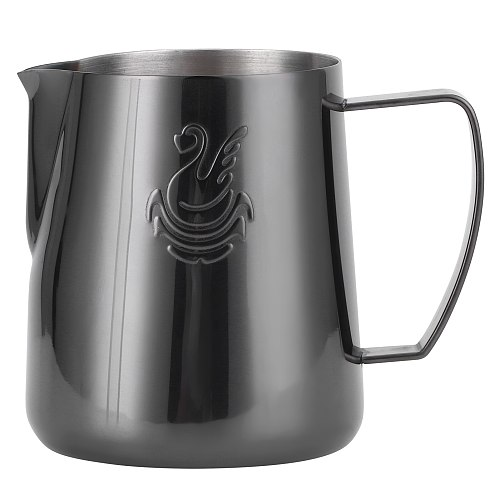400ml Coffee Cup Mug Latte Art Coffee Utensils Milk Frothing Pitcher 304 Stainless Steel Coffee Garland Mould