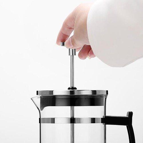 Stainless Steel 304 Pressure Pot Coffee Maker Household Teapot Tea Brewer