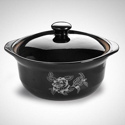 christ Casseroles steamed rice rice noodle shallow pot casserole heat-resistant ceramic casseroles chicken braised in cass