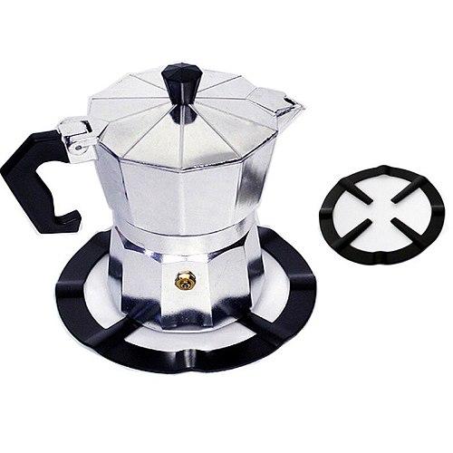 1Pc Kitchen Moka Pot Support Cast Iron Furnace Rack Bracket Anti-Skid Stove Rack Gas Cooker Ring Reducer Moka Pot Holder Stand