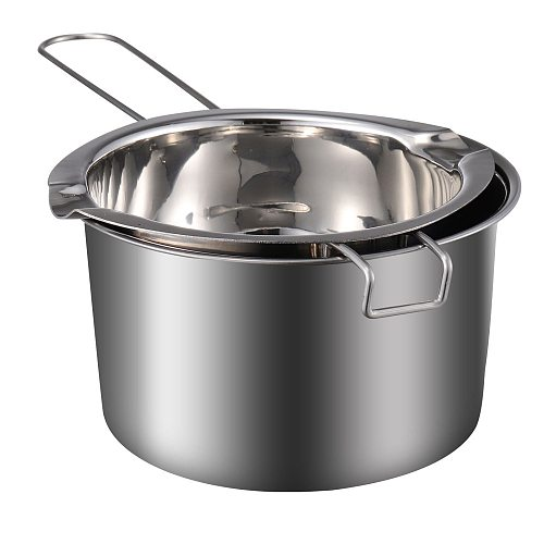 1 Set Double Boiler Pot Safe Nice Chic Fine Cheese Melting Pot Stainless Steel Chocolate Pot Chocolate Melting Pot Melting Pot