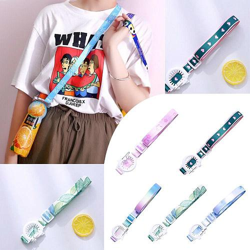 Outdoor Water Bottle Shoulder Strap Portable Long Buckle Hanging Buckle Cup Beverage Rope Accessorie With Travel Portable T K6A9