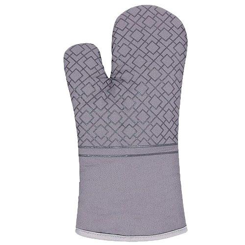 New Kitchen Gloves Potholder Gloves Mitts Baking Insulation Gloves for BBQ Non-slip Resistant Linen Potholders Pad Oven Mitts