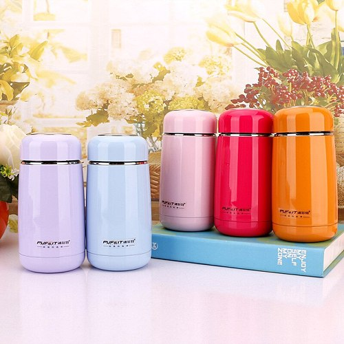 Creative Portable Thermo Cup Stainless Steel Kid Thermos Bottle For Water Thermo Mug Cute Thermal vacuum Flask child Tumbler
