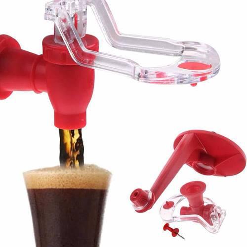 Hand Press Water Kettles Dispenser Valve Cola Soda Beverage Switch Saver Drinkers Refrigerator Soft Coke Drink Dispenser