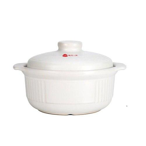 Soup Pot Crock Pot Casserole Ceramic Saucepan Soup Pot High Temperature Resistant Cooking Pan for Gas Stove Soup Pot