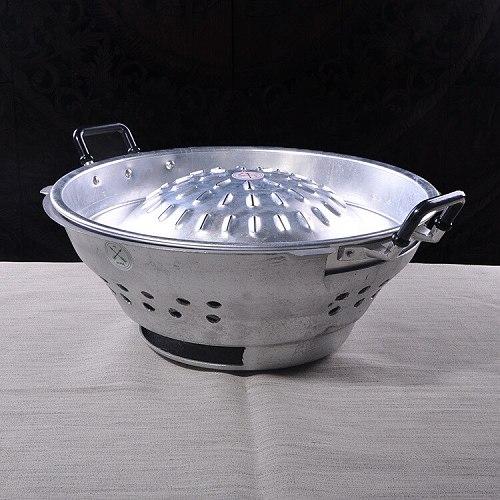 Thailand Origin 40cm Top Grade Iron Hot Pot Thailand Characteristic Fondue With Cover Free Shipping