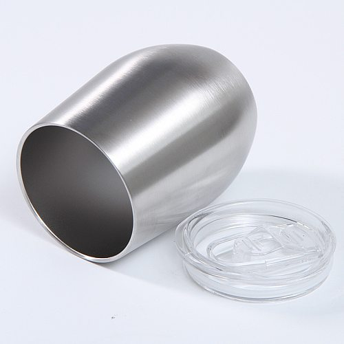 12oz Stainless Steel egg cup 360ML Vacuum Wine Glass Double Insulated Coffee Drinking Bottle tumbler cups in bulk hydro flask