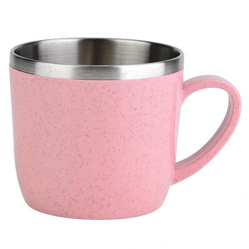 Eco friendly Coffee Mug High Quality Stainless Steel Tea Cup Thermal Flasks Insulation Water Coffee Juice Milk Mug