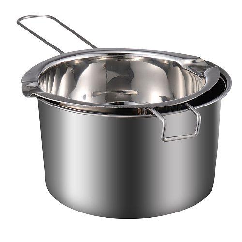 Double Boiler Pot Nice Chic Fine Safe Wax Melting Pot Cheese Melting Pot Chocolate Melting Pot Stainless Steel Chocolate Pot