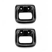 2PCS 67*67mm Pan Anti Scalding Double Hole Replacement Short Easy Install Bakelite Grip Pot Handle Household Accessories