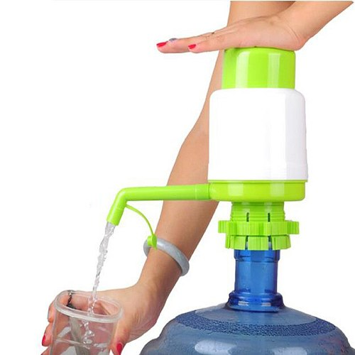 5 Gallon Bottled Drinking Water Hand Press Removable Tube Innovative Vacuum Action Manual Pump Dispenser