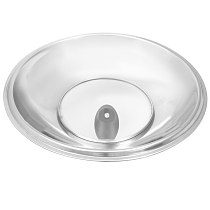 34cm Multifunctional Cooking Wok Pan Lid Stainless Steel Pan Cover Visible Replaced Lid for Frying Wok Pot Dome Wok Cover