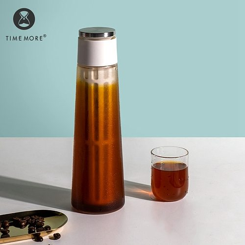 TIMEMORE Store Ice Coffee pot Glass  Cup With Filter Portable  Minimalism Coffee Utensils