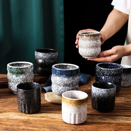 150ml Ceramics Espresso cups Japanese Style Coffee cups Kungfu Teacup Latte Mug coffee tools Retro coffeeware