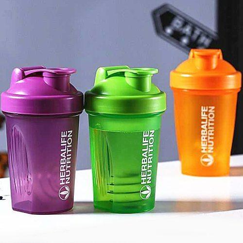 400ML/600ML Herbalife Water Bottle For Drink Plastic Leak Proof Sports Bottles Protein Shaker Water Bottle Drinkware BPA FREE