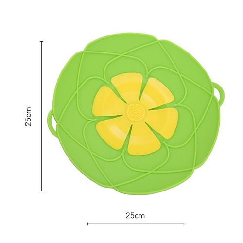100PCS High Temperature Resistance Silicone Lid Spill Stopper Anti-overflow Splash Cover For Pot Pan Kitchen Accessorice Tool