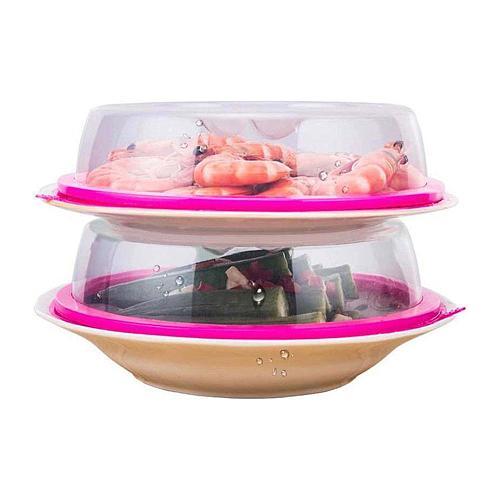 Kitchen Vacuum Food Fresh Cover Food Keep Fresh Lid Home Refrigerator Storage Transparent Fresh Cover