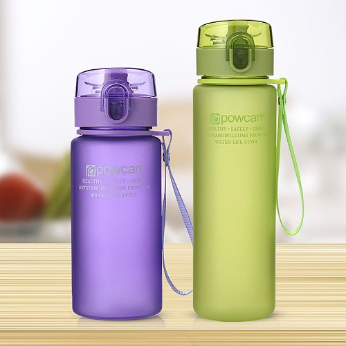 Sports Cup Couple Water Cup Plastic Portable Drink Bottle Tarvel Outdoor Rope Water Bottle Juice Milk Cup Kitchen Water Cup