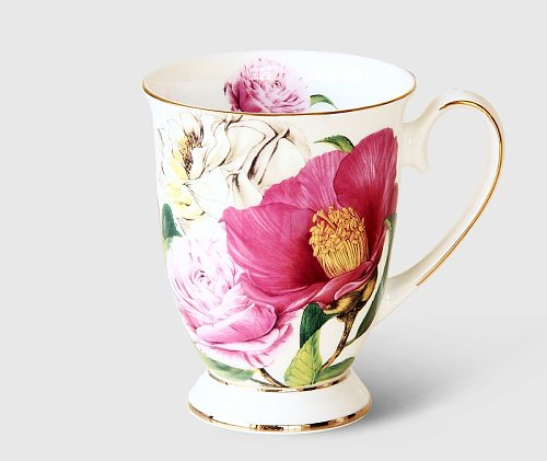 300ML, bone china cafeteira coffee cup, porcelain taza ceramic cup, elegant coffe mug wedding present, espresso cup royal