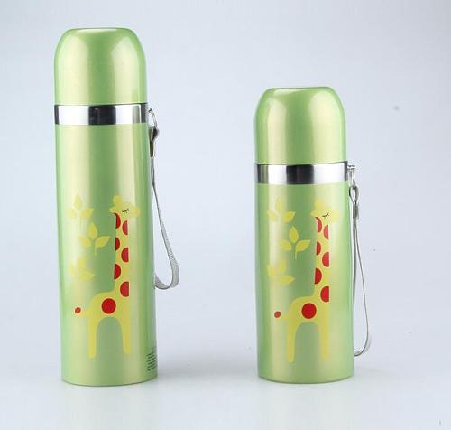 350/500ML Colorful cartoon Animal design vacuum flask thermal cup Coffee Mug Water Bottle Sport Garrafa Termica