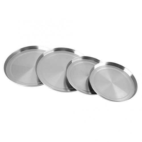 Cookware Accessories 4Pcs/Set Stainless Steel Kitchen Stove   Covers Cooker Protection Kitchen Utensil Tools