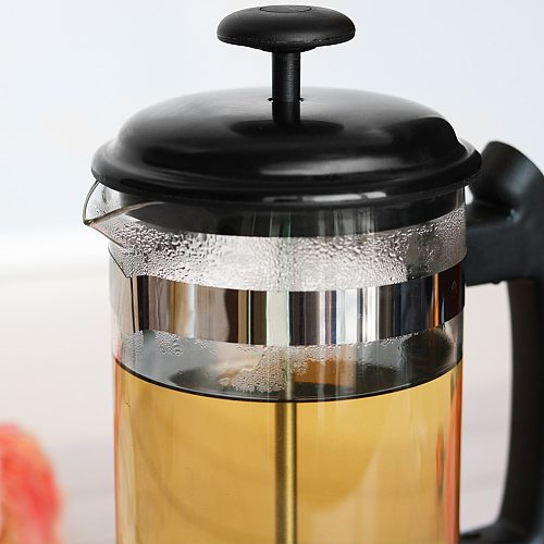 1000ml Coffee Tea Pouring Pot Kitchen Tools Apartment Home Coffee Accessories French Press Coffee Maker Kettle