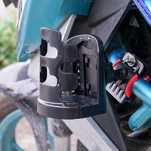Motorcycle Bicycle Beverage Water Bottle Cage Drink Cup Holder Quick Release Bike Accessories