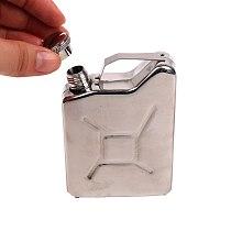 Bar Drinkware 5 Oz Hip Flask Oil Jerry Can Liquor Creative Stainless Steel Wine Pot Mini Portable Whiskey Vodka Alcohol Bottle