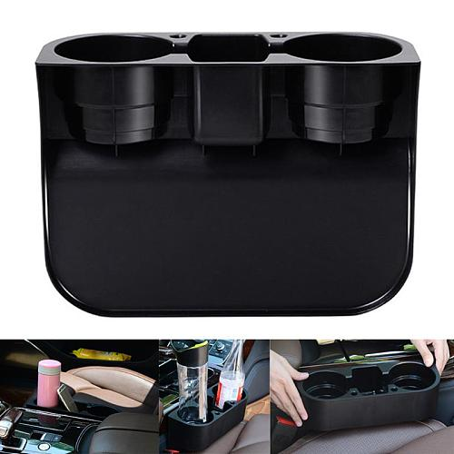 Car Cup Holder Organizer Auto Seat Gap Water Cup Drink Bottle Can Phone Storage Holder Stand Box Car Styling Accessories Hot