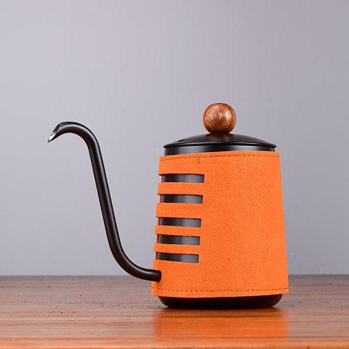 Stainless Steel Handleless Anti-Hot Coffee Pot Drip Kettle 500ml Coffee Maker With Gooseneck Spout Coffee Tea Pot