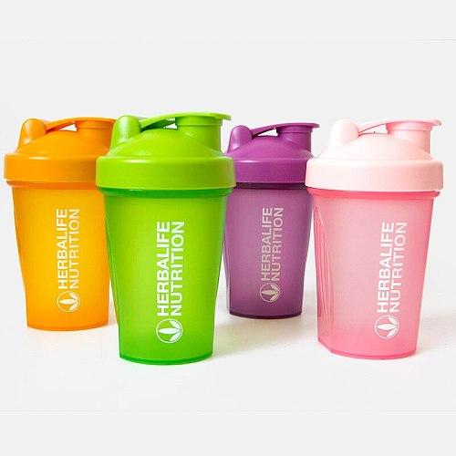 400 Ml Outdoor Draagbare Sport Shaker Fles Shaker My bottle Plastic Drink Fles Wei-eiwit Poeder Mengen Fles Sport Fitness Gym