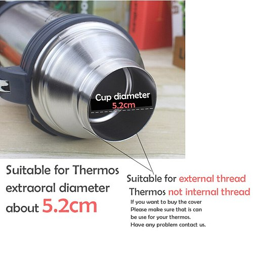 1 Pcs 5.2cm Thermo Cover Vacuum Bottle Lid Thermo Cup Outdoor Travel Cup Bullet Cover Promotion