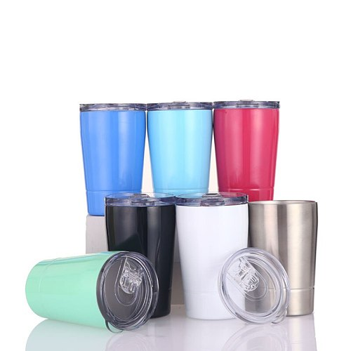 Stainless Steel Tumbler 12OZ Vacuum Bottle Wine Mugs Thermos Mugs Beer Coffee Cups Water Bottles Insulated Cola Wine Glasses
