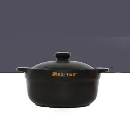 Ceramic High Temperature Resistant Casserole Stew Pot Korean Health Ceramic Pot Household Gas Direct Burning Soup Pot High