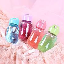 100-200ml Portable Mini Plastic Water Bottle Children Kids School Drinking Bottle Wide Mouth Water Bottles Drinkware Cup