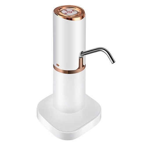 Home Automatic Water Dispenser Hand Press Water Pump USB Charging Water Pump