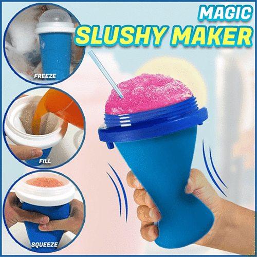 Portable Quick-frozen Slushy Ice Cream Maker Squeeze Slush Quick Cooling Cup Milkshake Molds Bottles Smoothie Cup Drop Shipping