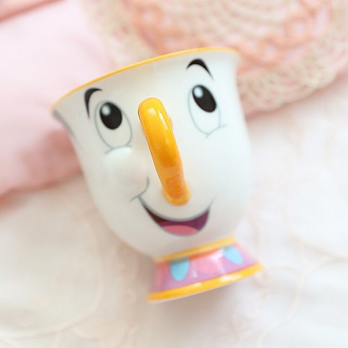 New Beauty and the Beast Mrs Potts' son : Chip Cup Tea Set Coffee Cartoon Mug
