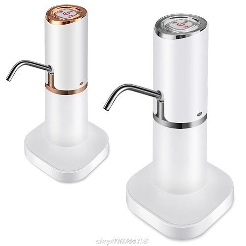 Home Automatic Water Dispenser Hand Press Water Pump USB Charging Intelligent Electric Bottled Drinking D01 20 Dropshipping