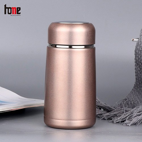 Thermal Cups for Tea Beer Mugs Coffee Thermos Water Bottle Container Isotherm Flask Tumbler Outdoor Steel Stainless Drinkware