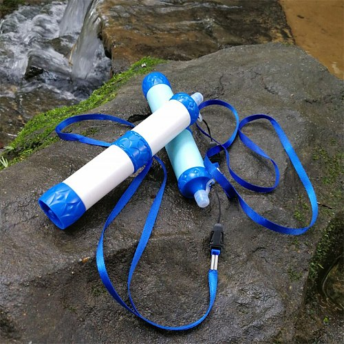 Outdoor Water Purifier Camping Hiking Emergency Life Survival Portable Purifier Water Filter YS-BUY