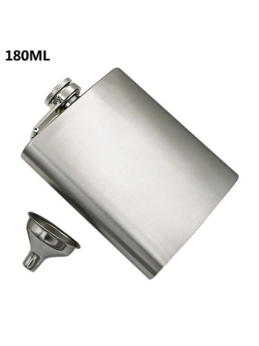 High Quality Stainless Steel Hip Flask Alcohol Bottle Pocket Set Whiskey Drink Flasks Wisky Alcool Beer Gifts