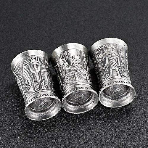 The Revenant Film Some Style Metal Shot Glass Set Ancient Egypt Myth Cleopatra Rameses Ra Relief B52 Cocktail Wine Glasses Cup